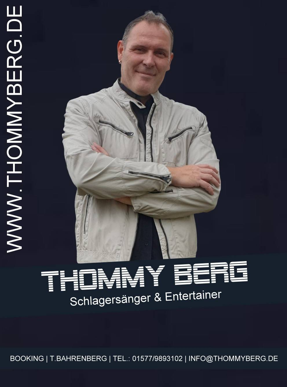 Booking Thommy Berg